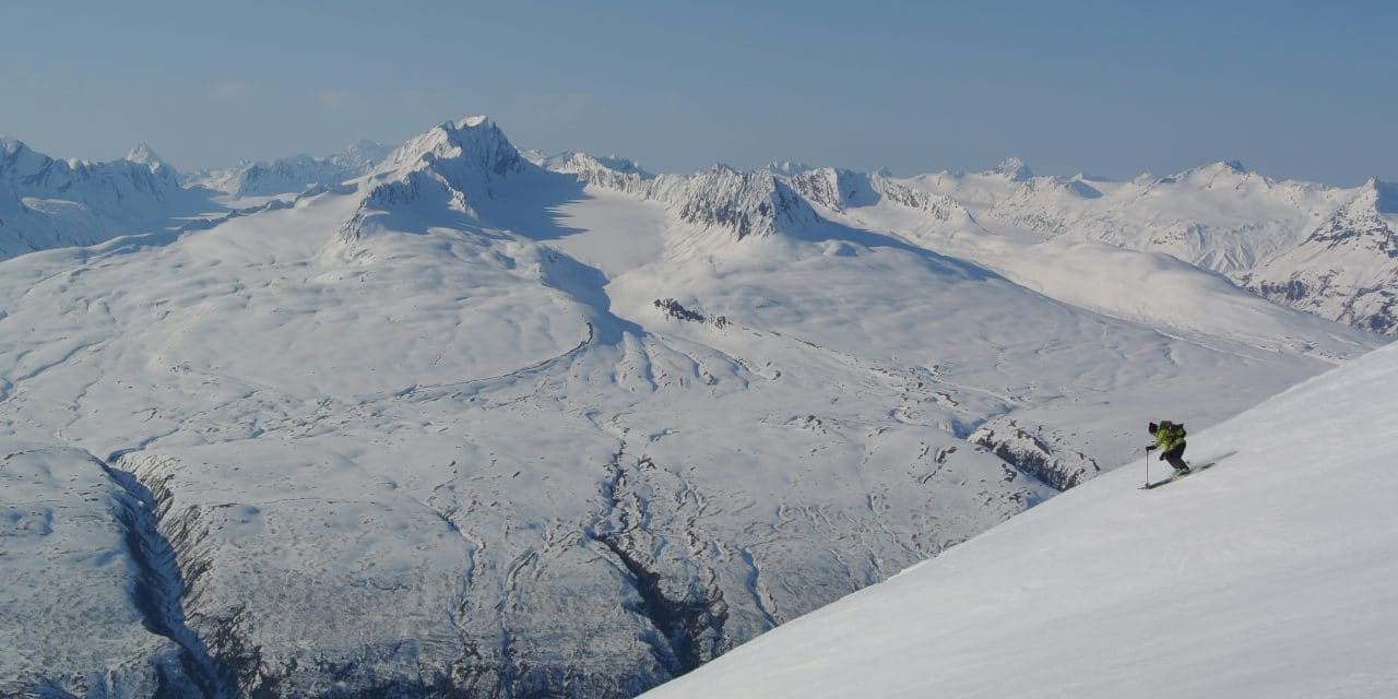 """Ski en Alaska / <span class=""""caps"""">USA</span>"""