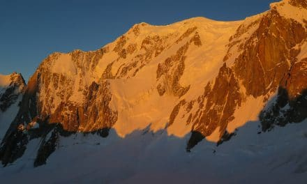 Arête Kufner au Mont‐Maudit