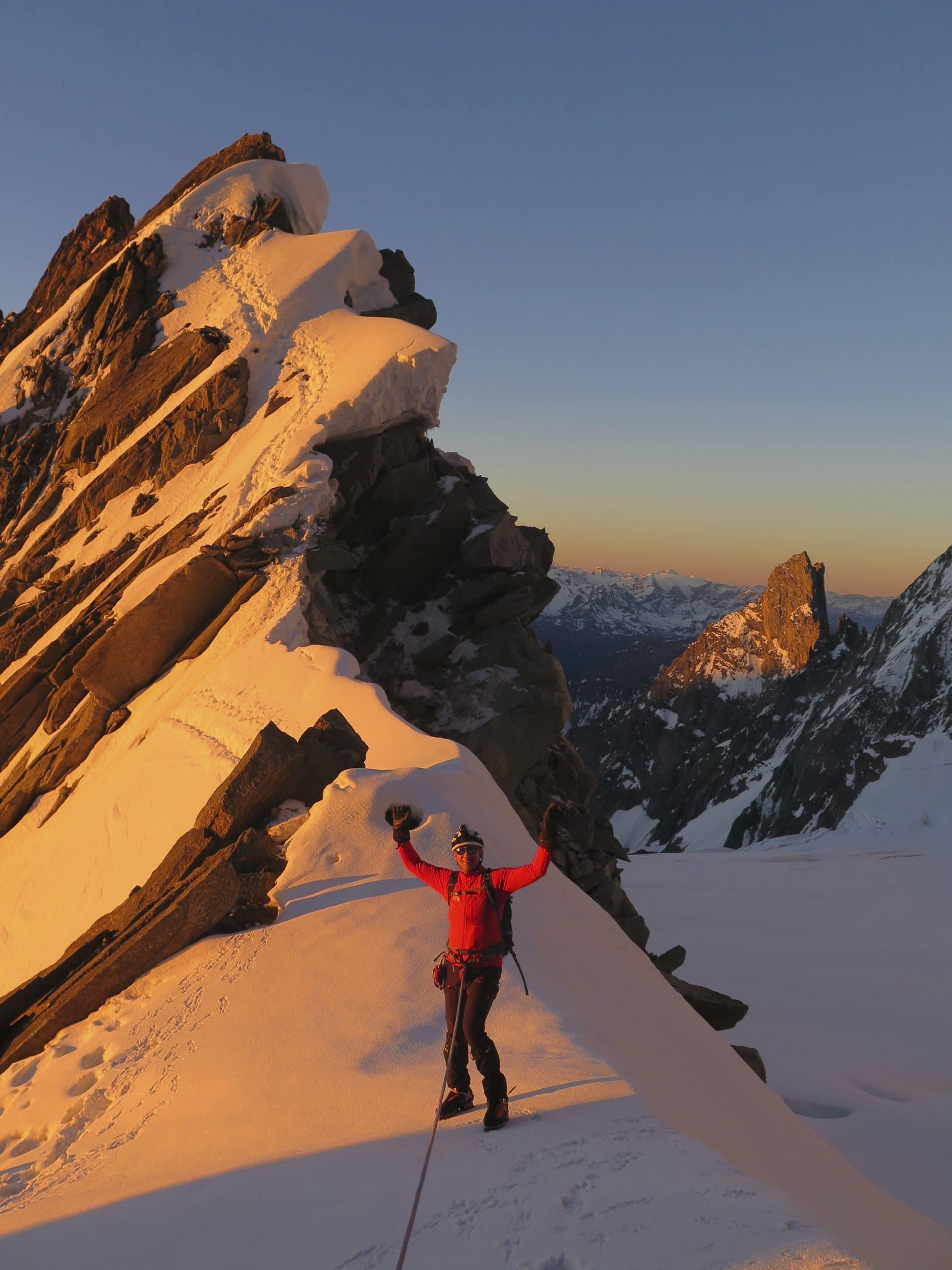 Helyum_Xavier-Carrard_guide-de-montagne_Alpinisme_arete-Kufner_Mont-Maudit_France_3