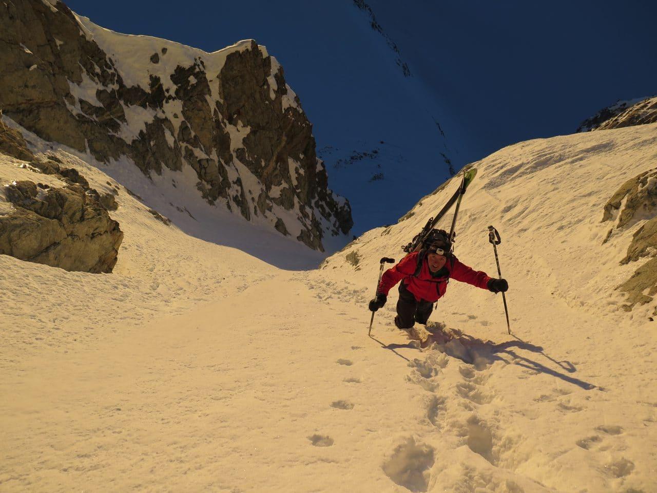 Couloir-Est-des Bouquetins_Ski-pente-raide_Helyum_Xavier-Carrard_Valais_Suisse_2