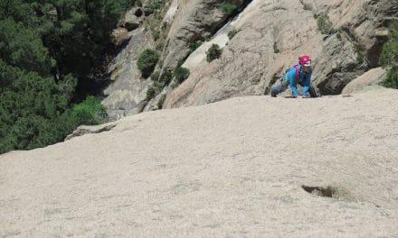 Bavella: escalades granitiques en Corse