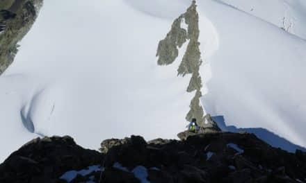 Valais: arête sud-ouest de l'Évêque