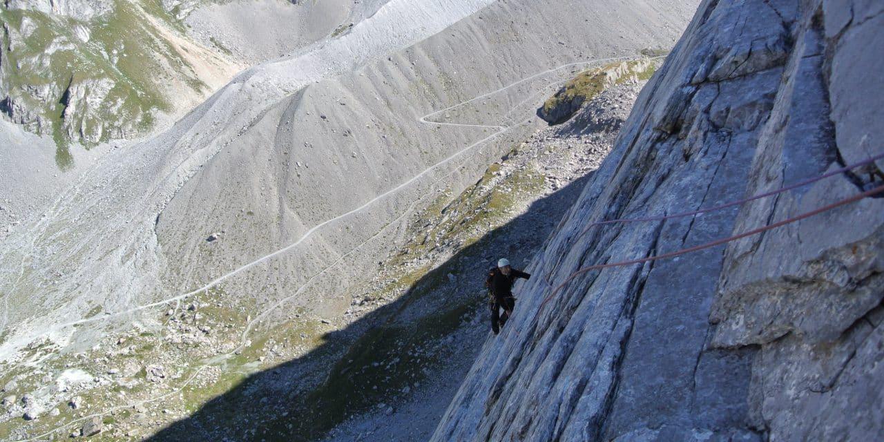 Aiguille de la Vanoise: Voie Desmaison