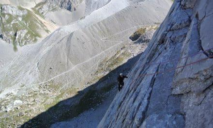 Aiguille de la Vanoise : Voie Desmaison