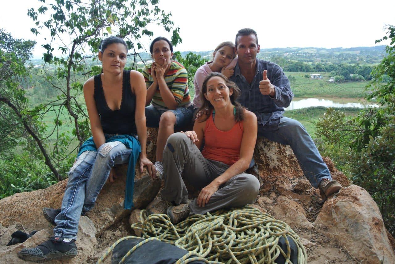 famille à Cuba