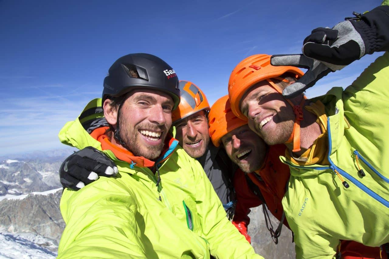 Au sommet du Cervin en 2014