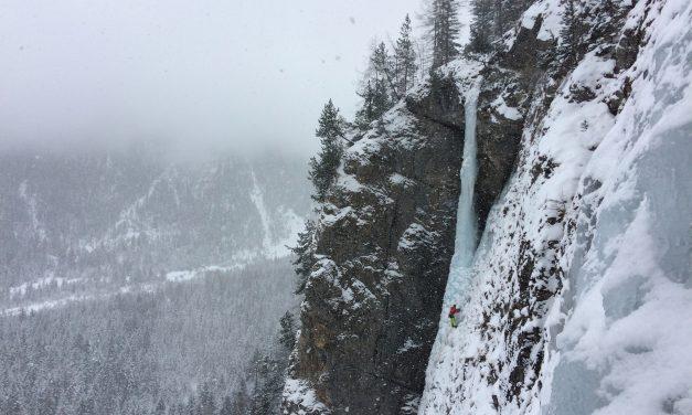 La saison de la cascade de glace est lancée!