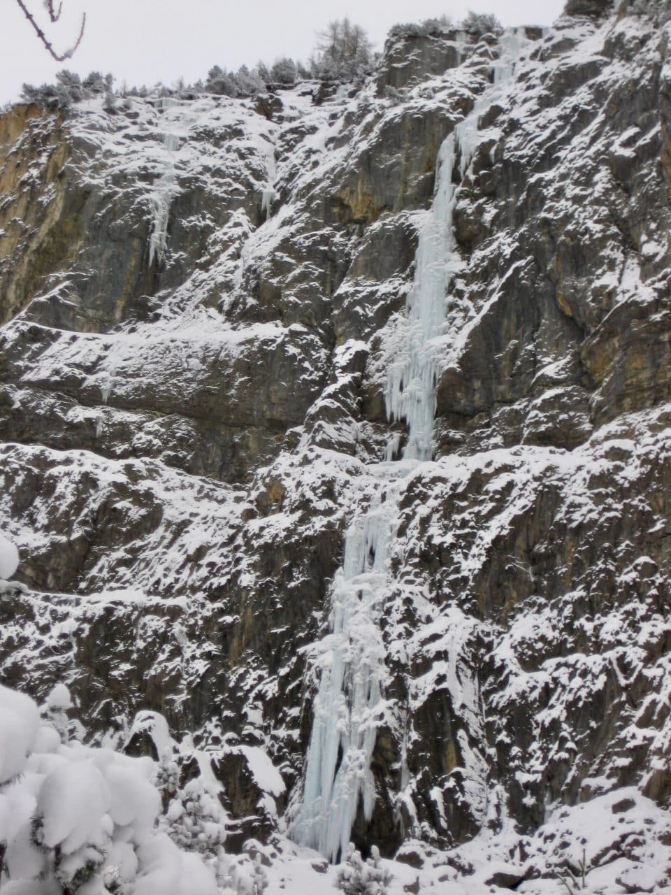 Cascade de glace, Kandersteg