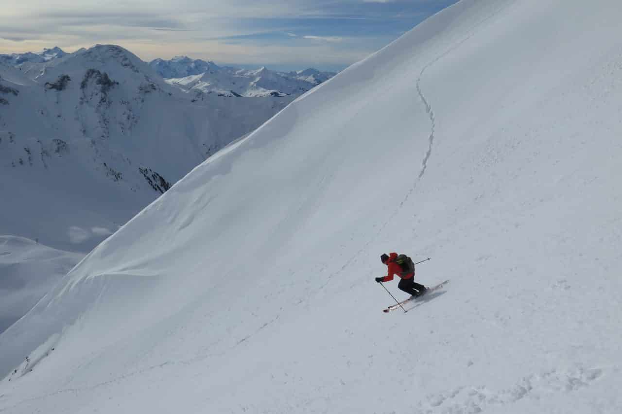 Diemtigtal ski de randonnée pente raide