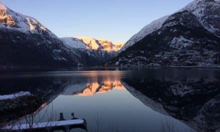 Cascade de glace Norvège 2018