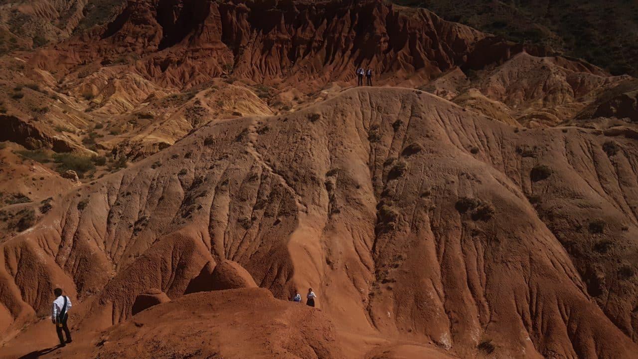 Kirghistan Xavier et Vana gorge de skazka
