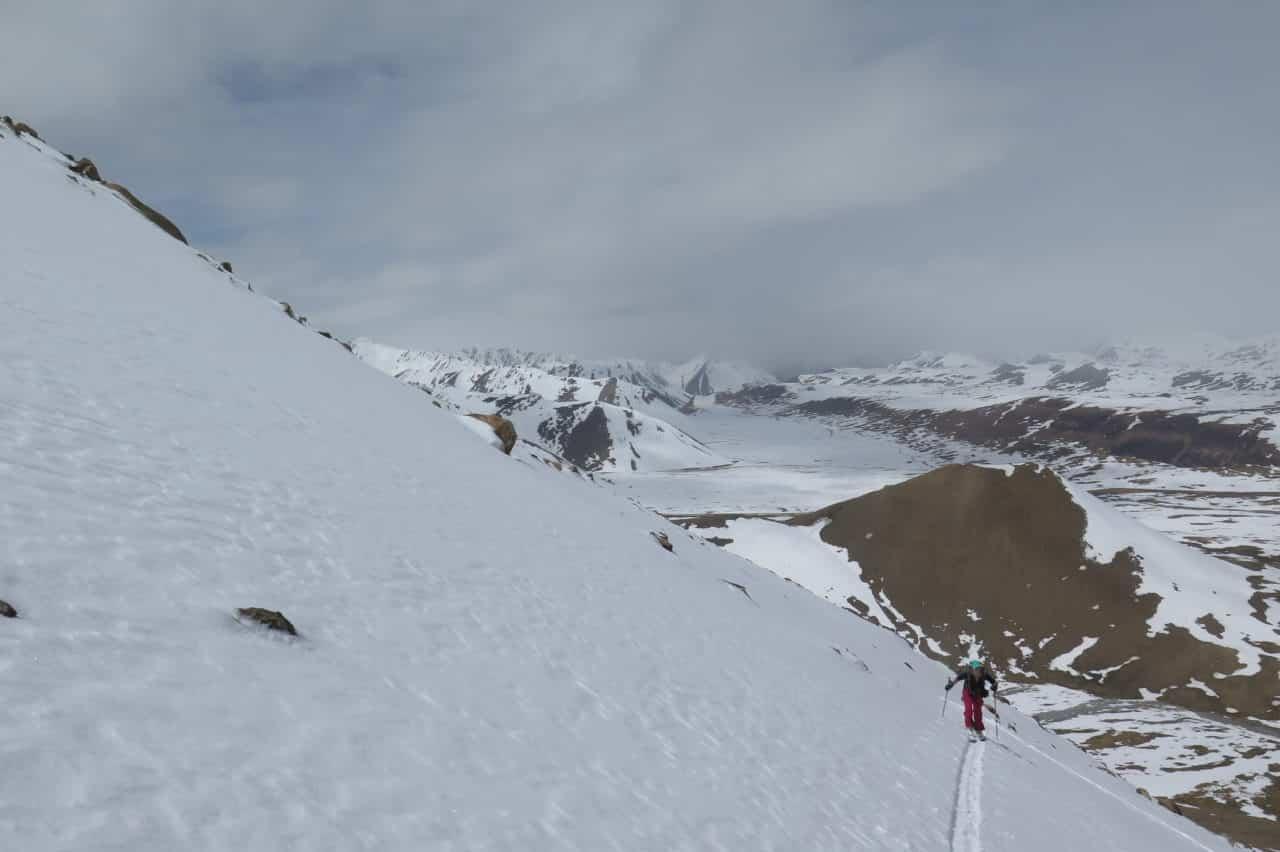 Kirghistan Xavier et Vana Ski Xavier