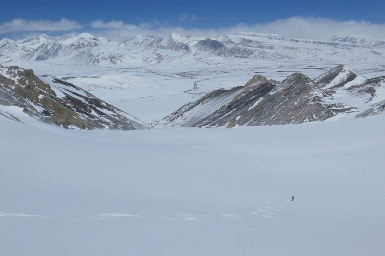 Kirghistan Xavier et Vana skie