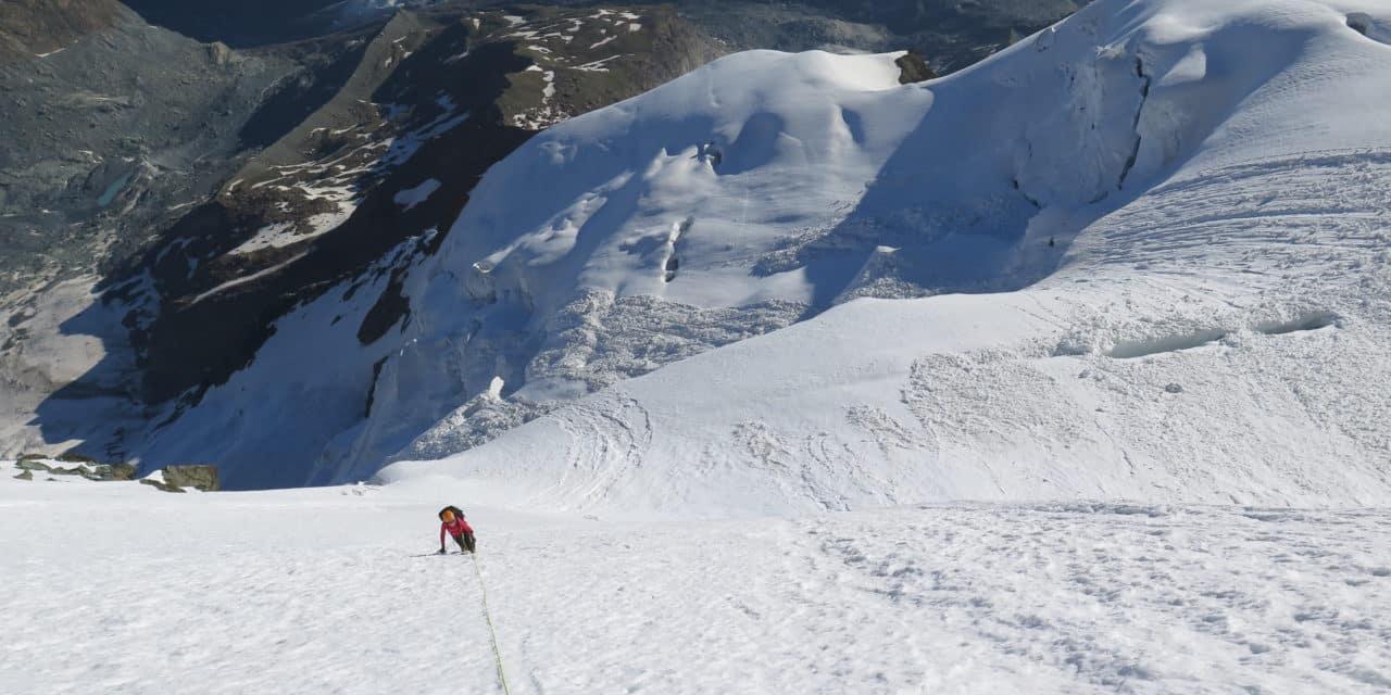 Triftjigrat – Face nord du Breithorn Ouest