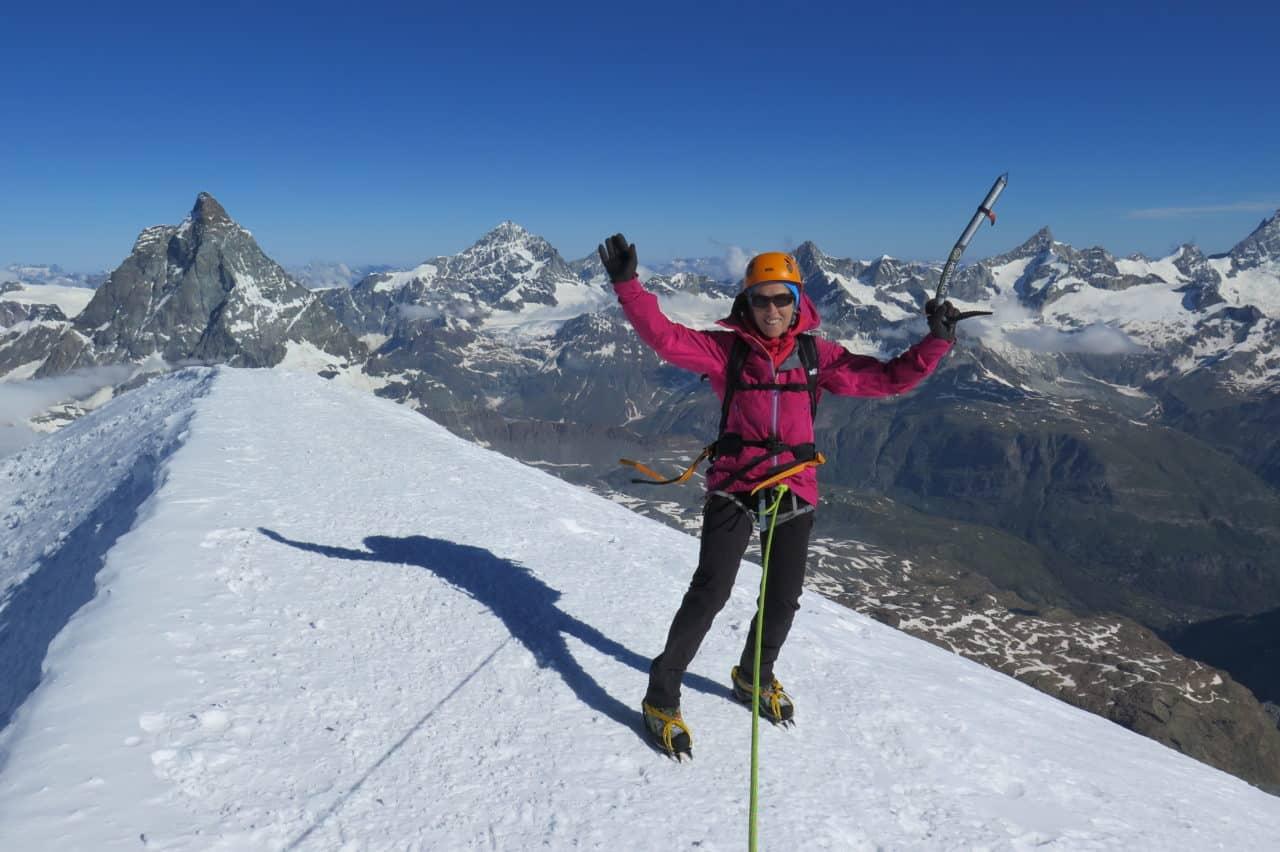 Breithorn Triftigrat sommet