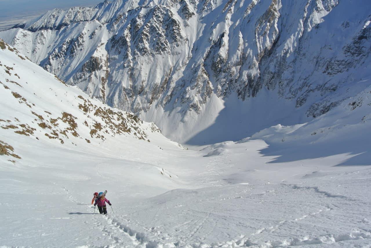 Roumanie ski dans les Carpathes