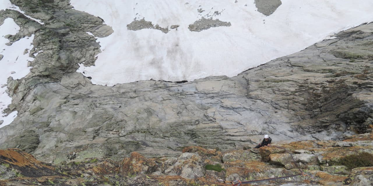 Mazurka : Versant ouest l'Aiguille Orientale du Soreiller