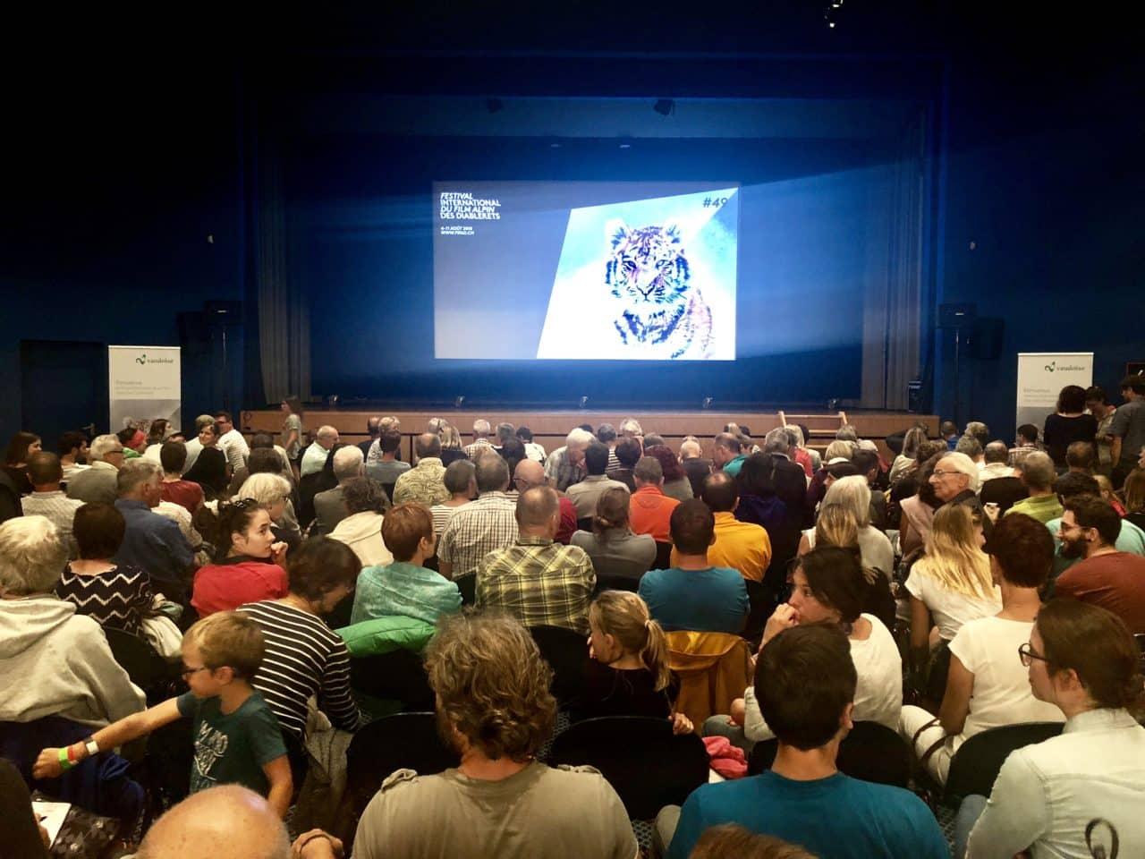 Escalade et cinéma dans le cadre du FIFAD 2018 avec le guide Yann Nussbaumer Helyum