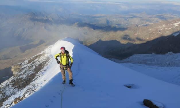 Mont‐Rose, une série de sommets élevés