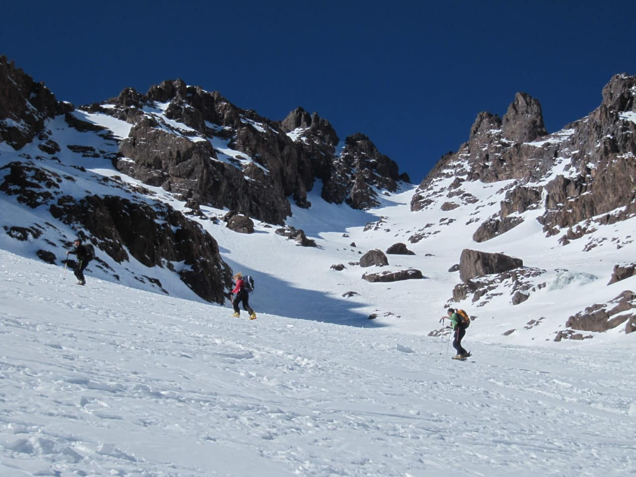 Ski au Maroc. ski de printemps