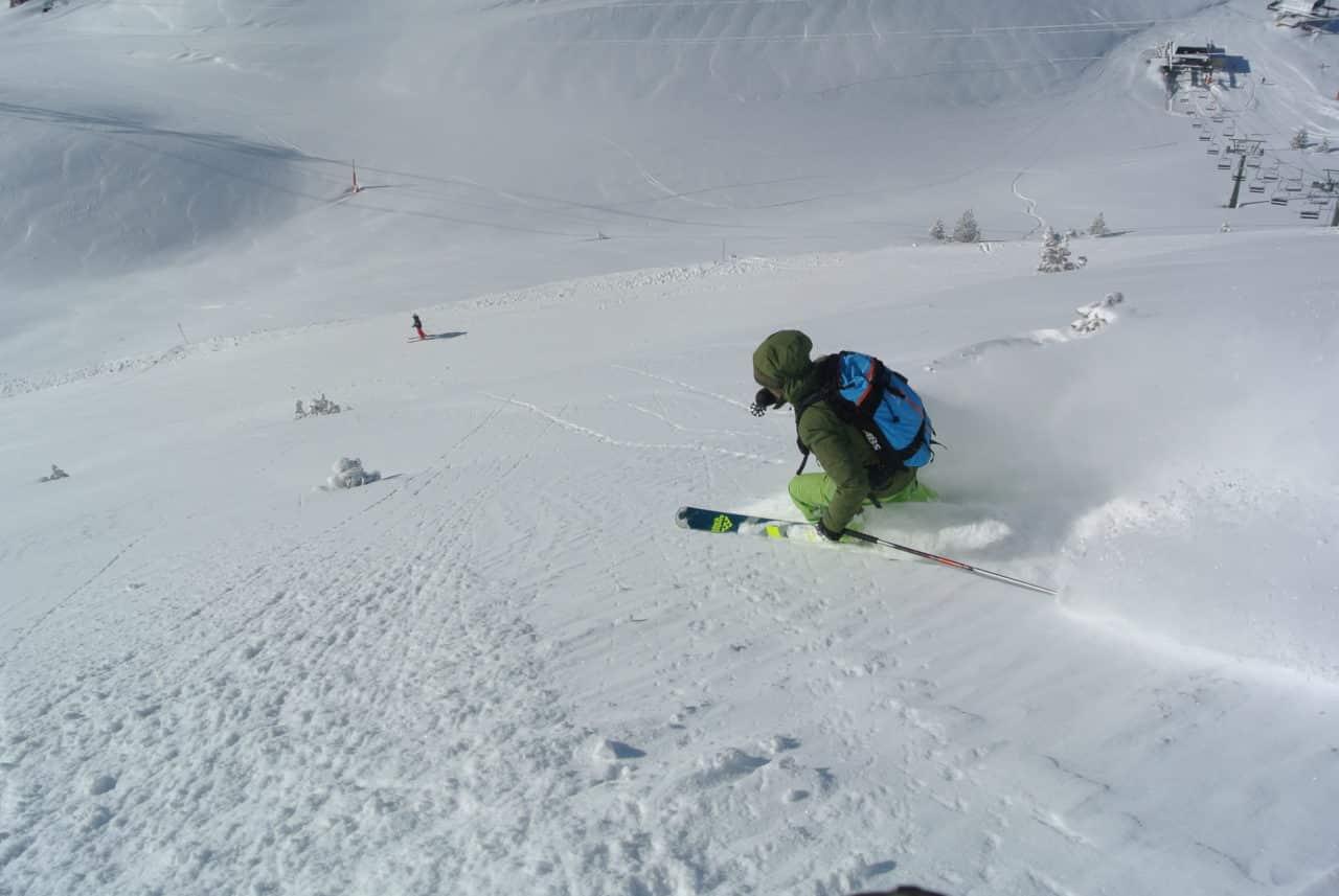 Ski Pyrenees Baqueira Olivier.