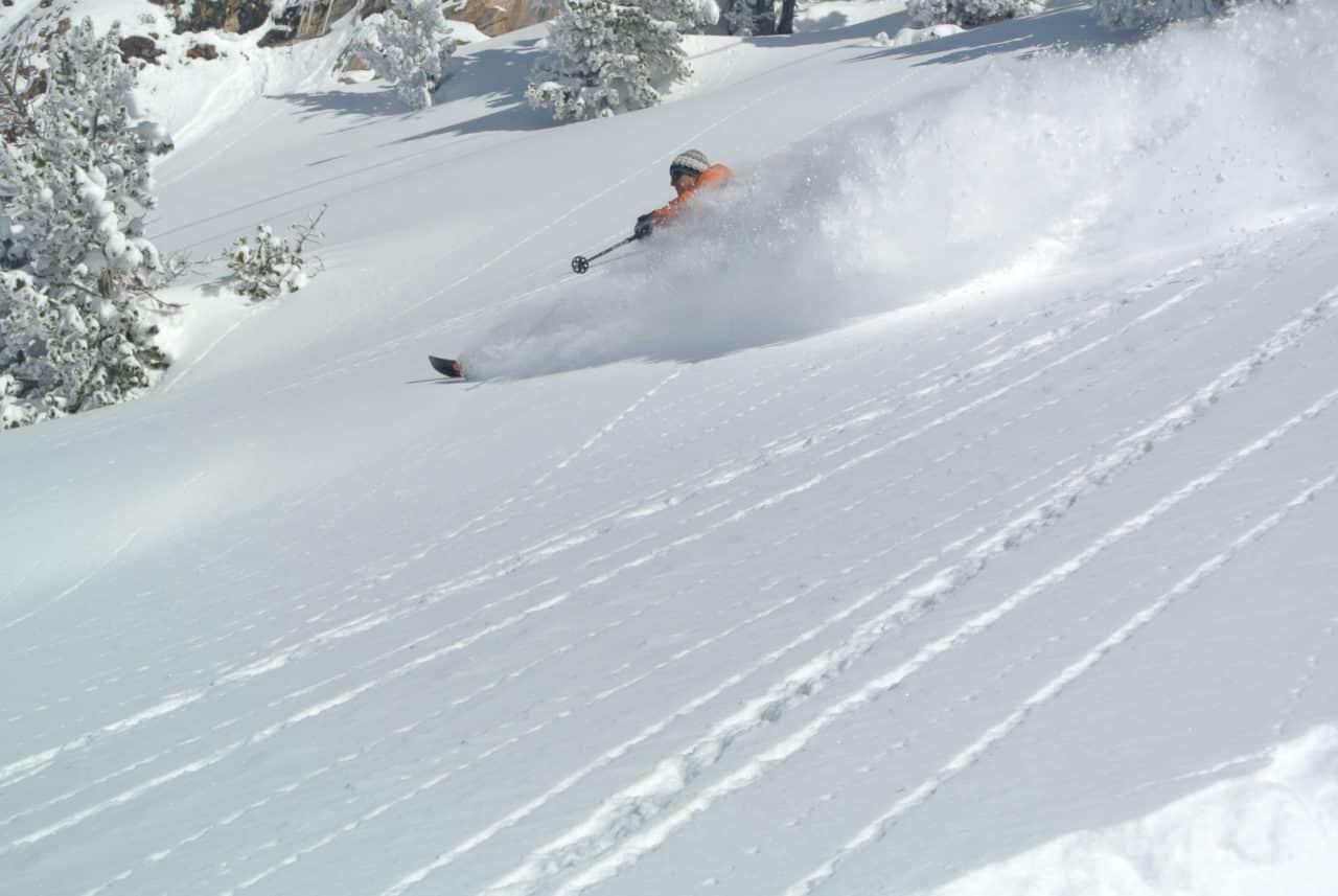 Ski Pyrenees Baqueira Seb.