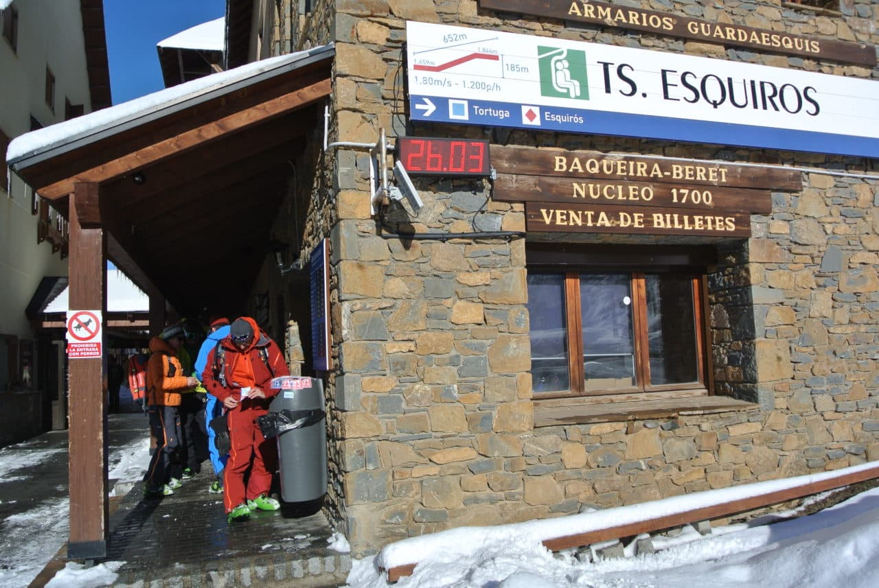 Ski Pyrenees Baqueira Yvan
