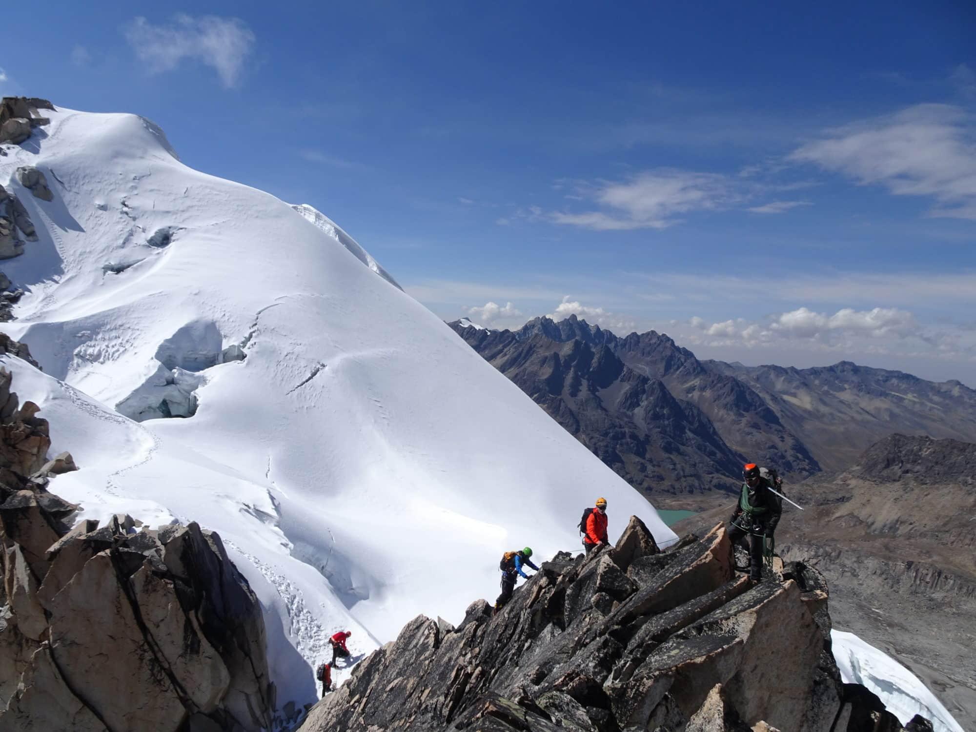 Bolivie, Traversée du Janq'uyu