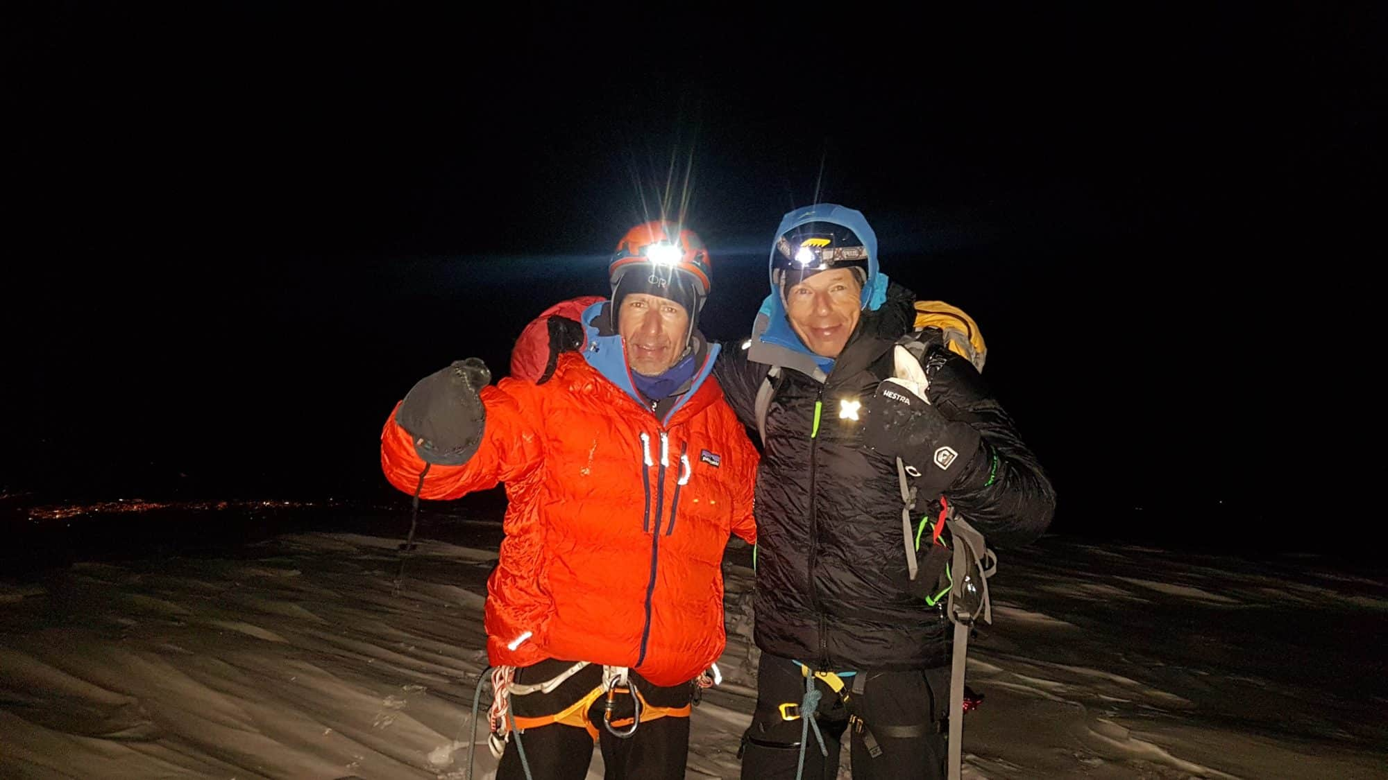 Equateur sommet du Chimbotazo. Helyum.ch