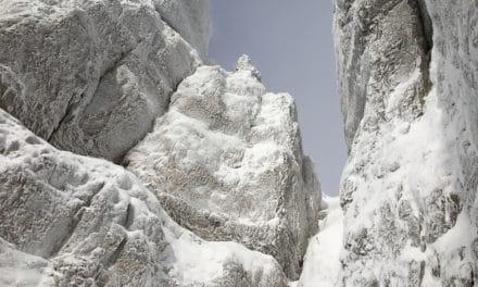 Tour d'Aï, face ouest en hiver