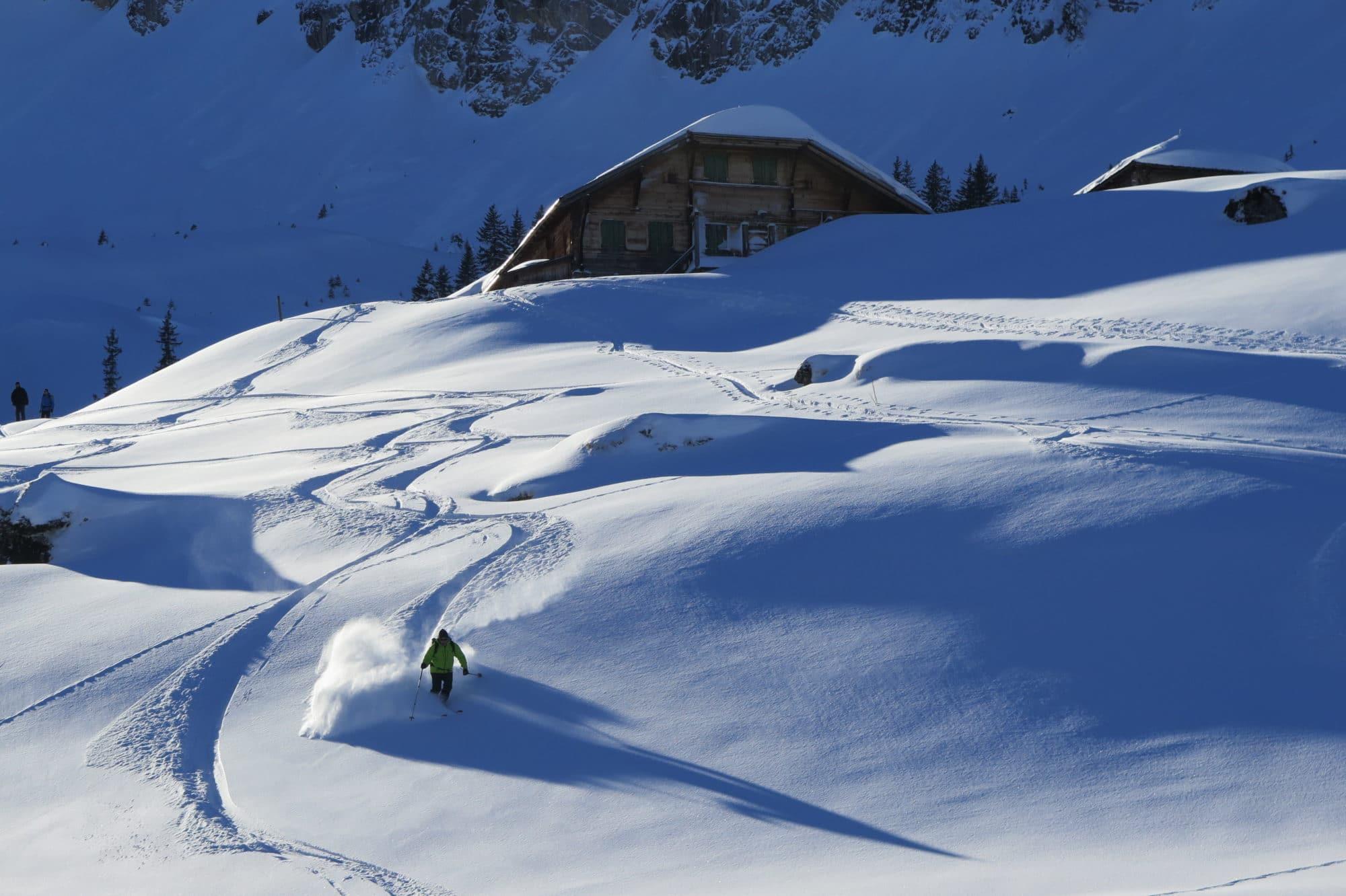 Diemtigtal Morand Jacques en Ski