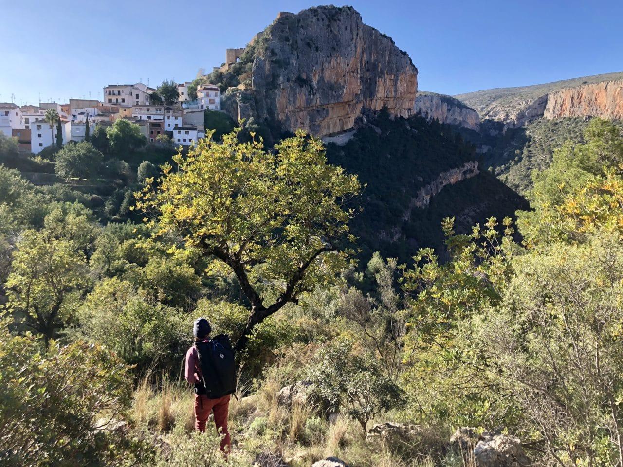 Escalade en Espagne à Siurana, Margalef et Chulilla avec Emilie et Yann Nussbaumer de chez Helyum