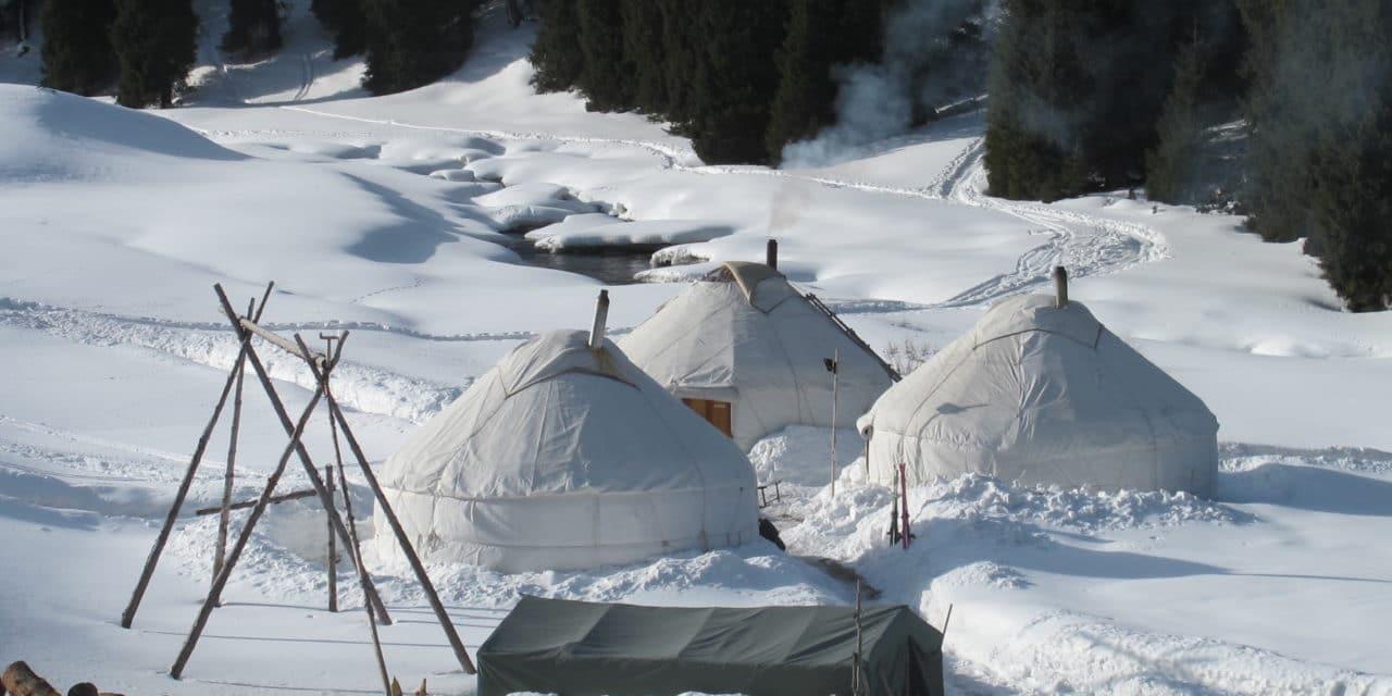 Ak-Suu, ski sauvage au Kirghistan