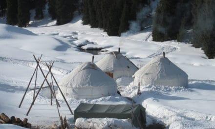 Ak‐Suu, ski sauvage au Kirghistan