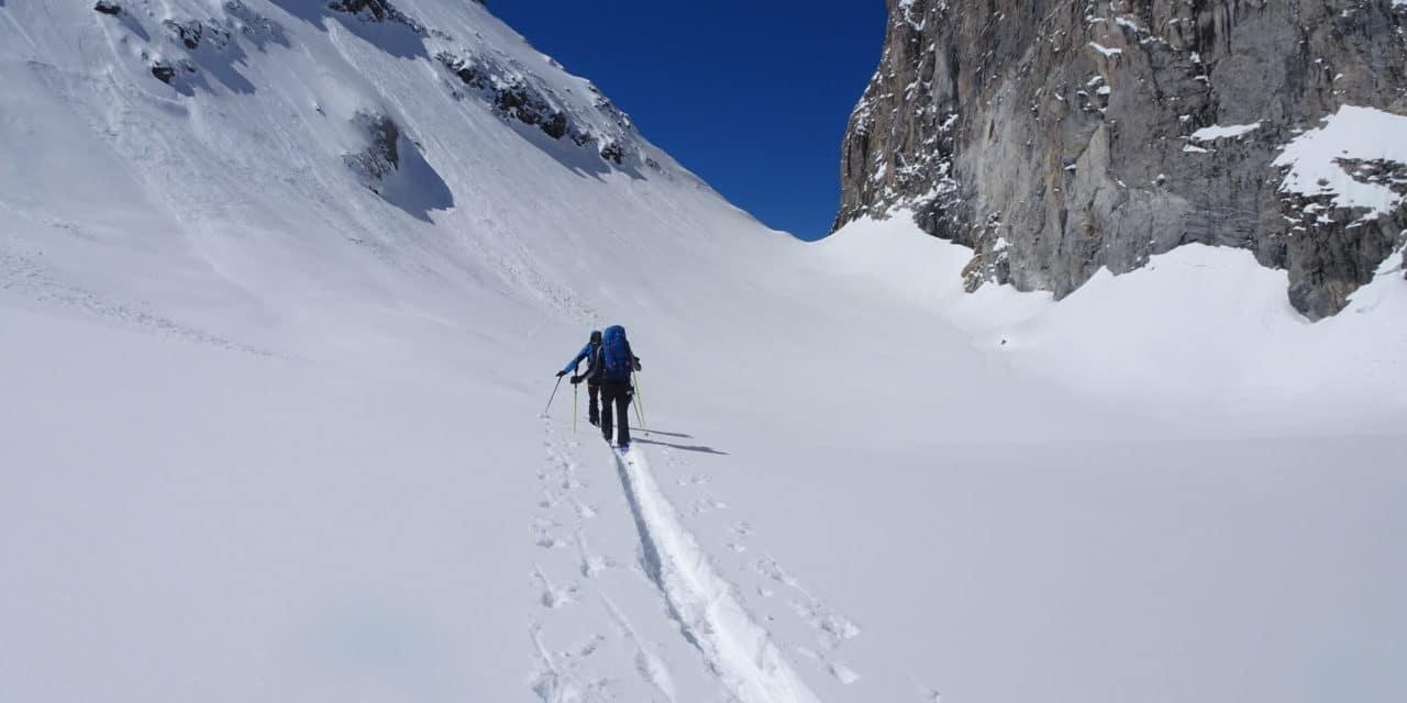 La traversée des Alpes en ski; une longue histoire par étape! De Courmayeur àPralognan-la-Vanoise