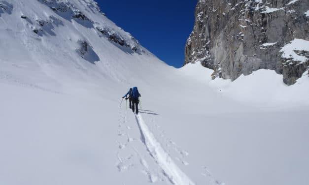 La traversée des Alpes en ski; une longue histoire par étape! De Courmayeur àPralognan‐la‐Vanoise