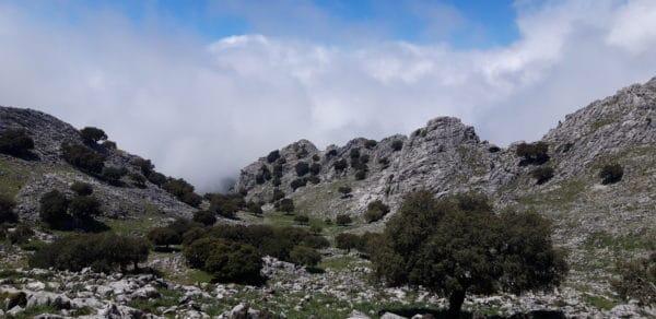 Sierra del Endrinal, silvana Carrard accompagnatriceen montagne guia de trek, uimla, chez Helyum