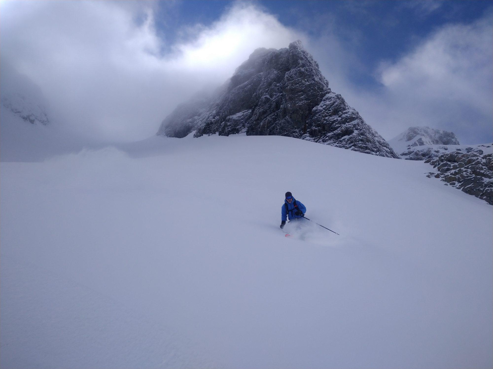 Norvège ski-voile. Traversée de Kägen