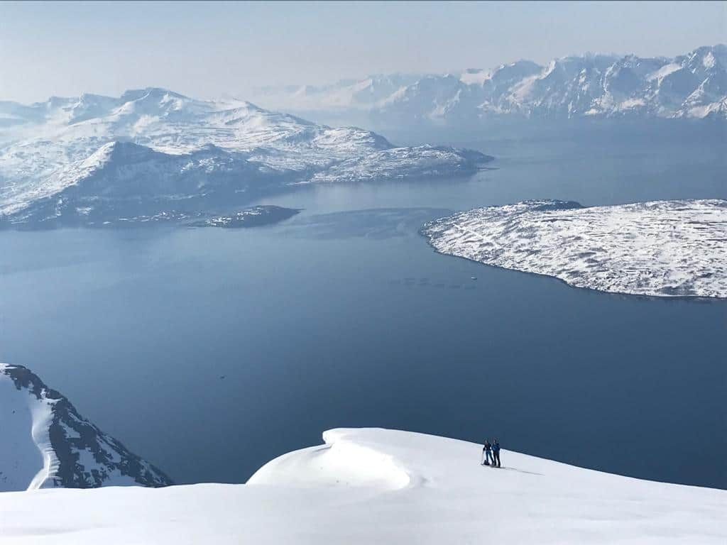 Ski rando voile Alpes de Lyngen et Troms, Norvège avec Philippe Mailhot