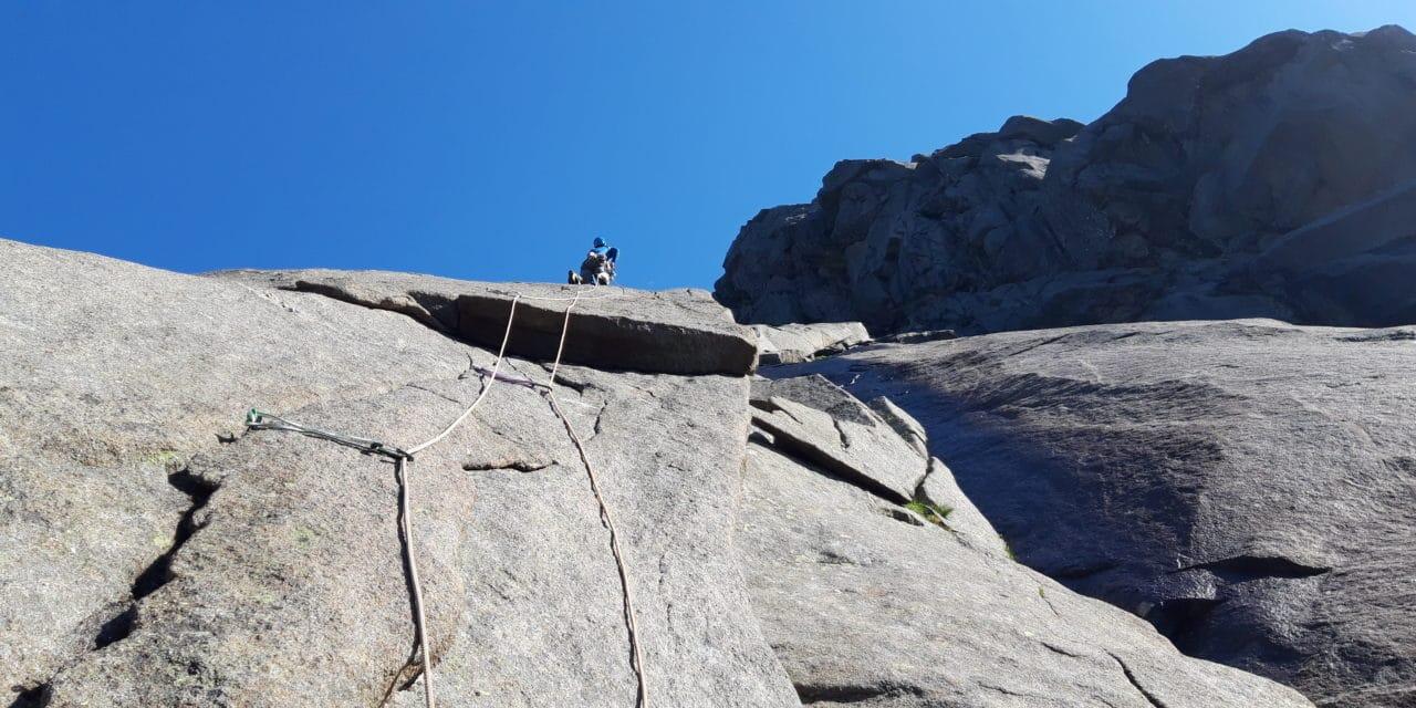 Lofoten: granite parfait, longues voies en trad