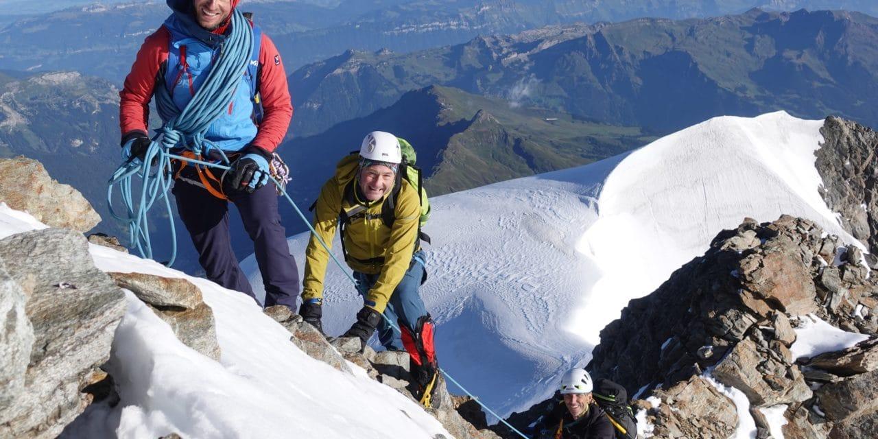 La Jungfrau par la Rottalgrat