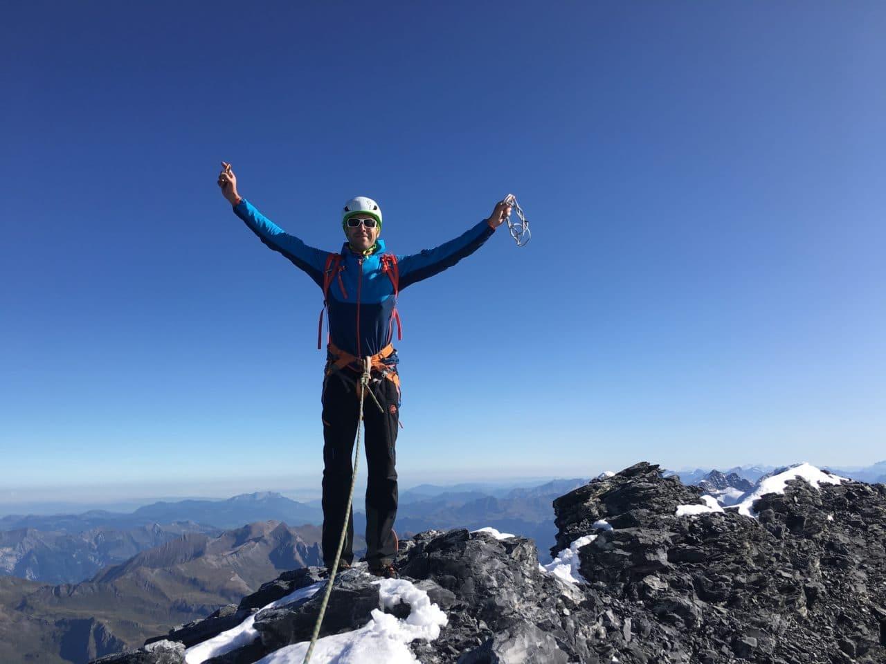 Sommet de l'Eiger