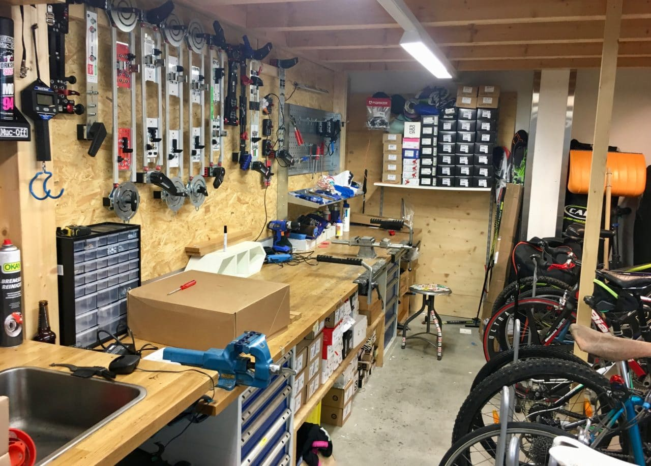 L'atelier skis chez Alpitrail