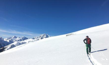 Le ski de Noël