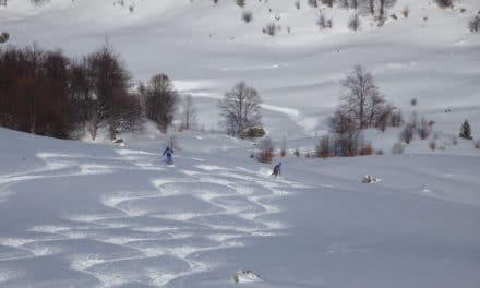 Kosovo: Grand ski dans le massif de Sharr