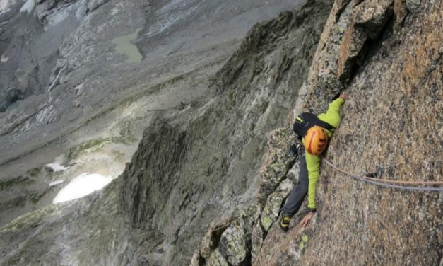 """<span style=""""font-size:1.5em;"""">Escalade </span><br> longues voies dans le massif du Mont-Blanc italien<br> /// Août 2020 /// <br><span style=""""color: #b0cc00;"""">Places disponibles</span>"""