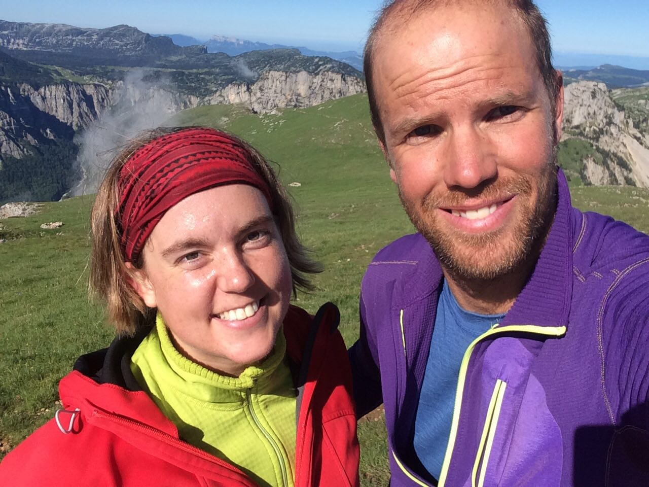 Escalade avec Jérôme Gottofrey guide de montagne chez Helyum
