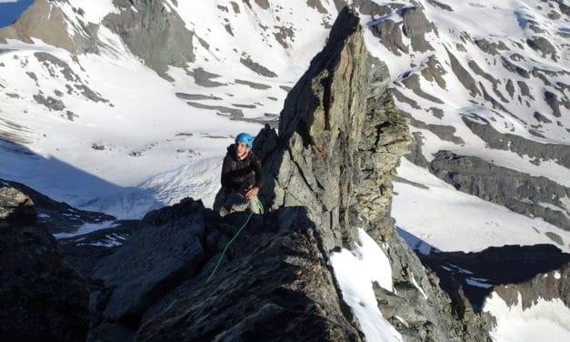 Arête Gallet au Mont-Blanc de Cheilon