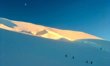 4 x 4000 dans le massif du Mont Rose