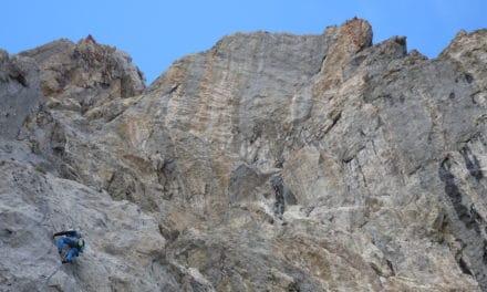 Yvan – Sanetsch, falaise des Montons